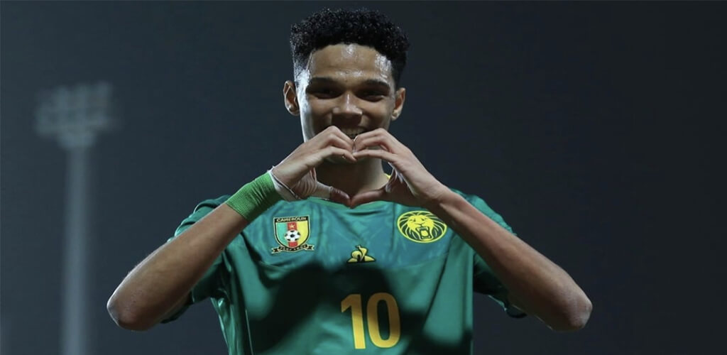 Etienne Pineda Eto'o son of legendary former indomitable lions on trial in Benfica.